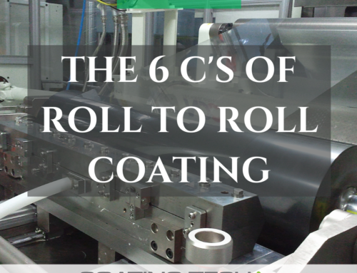 The 6 C's of Roll-To-Roll Coating Systems