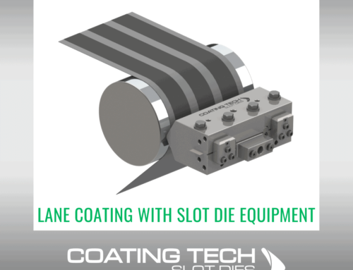Lane Coating with Slot Die Equipment